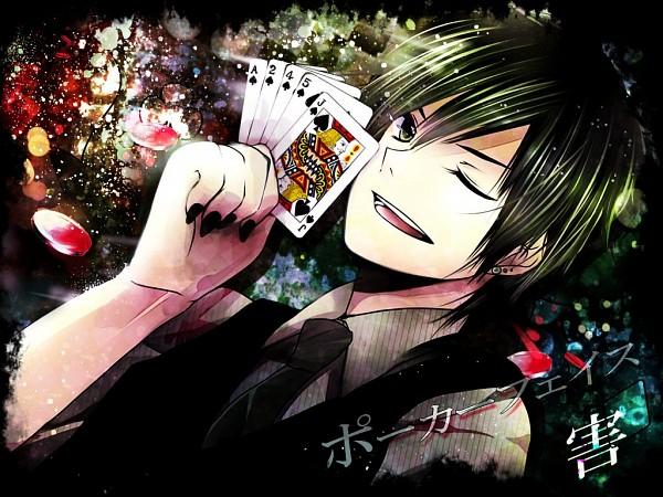 Tags: Anime, Pixiv Id 491788, Gai (Nico Nico Singer), Poker Face, Nico Nico Singer