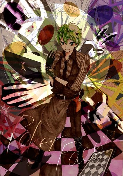 Tags: Anime, Gai (Nico Nico Singer), Poker Face, Nico Nico Singer