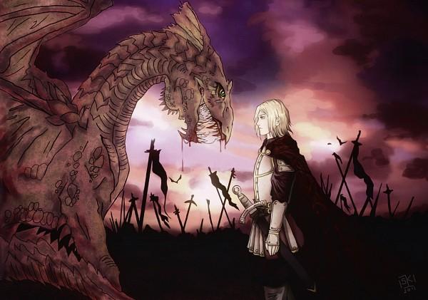 Tags: Anime, Crumble90, Axis Powers: Hetalia, Poland, Knight, Wawel Dragon, Fanart From DeviantART, Fanart, deviantART