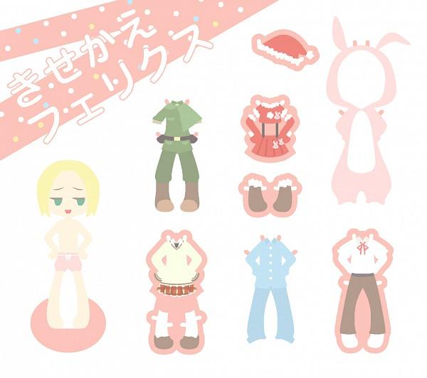 Tags: Anime, Axis Powers: Hetalia, Poland, Paper Dolls, Pixiv, Gakuen Hetalia