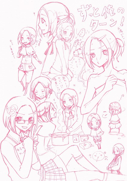 Tags: Anime, Axis Powers: Hetalia, Poland (Female), Poland, Mochipoland, Pansy, Polish Clothes, Pixiv, Gakuen Hetalia, Nyotalia, Fanart
