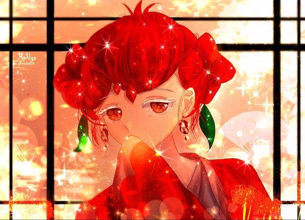 Tags: Anime, Pixiv Id 20128810, Cookie Run: OvenBreak, Cookie Run, Pomegranate Cookie, Pixiv, Fanart, Fanart From Pixiv