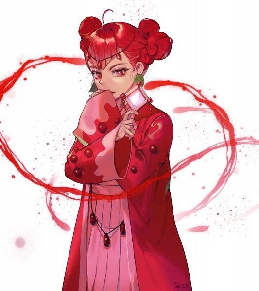 Tags: Anime, Pixiv Id 16674122, Cookie Run: OvenBreak, Cookie Run, Pomegranate Cookie, Fanart From Pixiv, Pixiv, Fanart