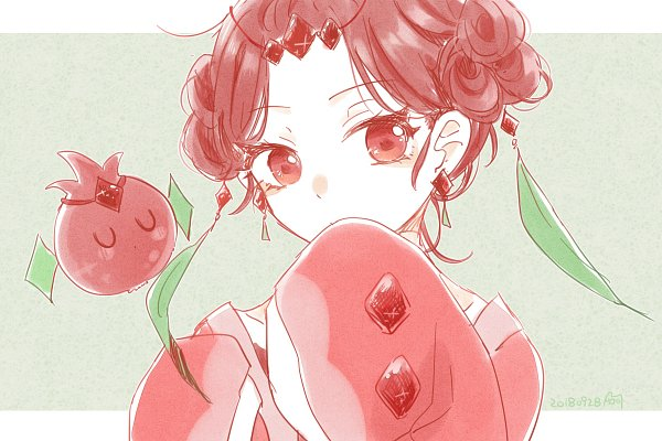 Tags: Anime, Pixiv Id 3829625, Cookie Run: OvenBreak, Cookie Run, Pomegranate Cookie, 1200x800 Wallpaper, Pixiv, Wallpaper, Fanart, Fanart From Pixiv