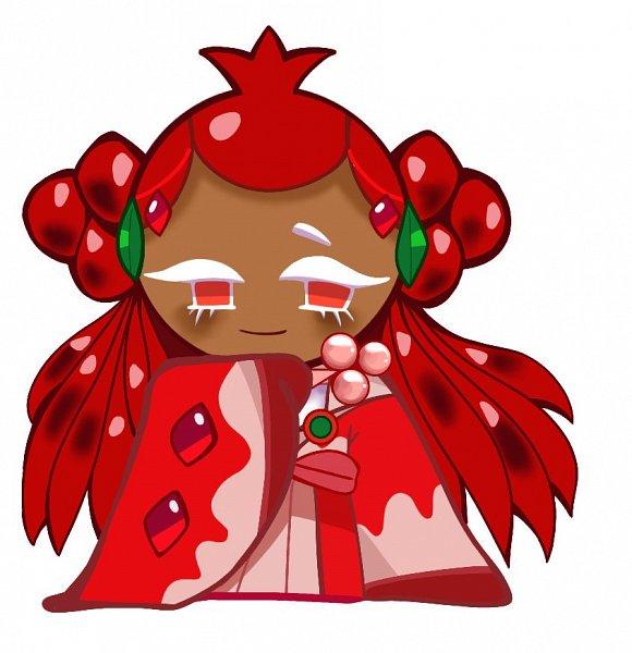 Tags: Anime, Dammu, Cookie Run: OvenBreak, Cookie Run, Pomegranate Cookie, Twitter, Fanart