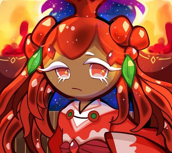 Tags: Anime, Dammu, Cookie Run: OvenBreak, Cookie Run, Pomegranate Cookie, Fanart, Twitter