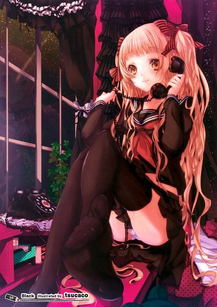 Tags: Anime, Pompier, Girls Girls Girls! 8 -Colorful Girls-, Scan, Pixiv