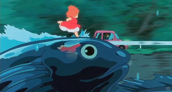 Tags: Anime, Studio Ghibli, Gake no Ue no Ponyo, Ponyo, Screenshot