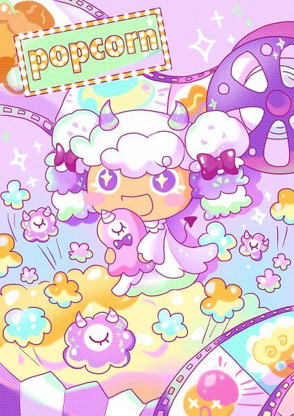 Tags: Anime, Twinkle (ssubin2018), Cookie Run: OvenBreak, Cookie Run, Popcorn Cookie (Movie Night), Popcorn Cookie, PNG Conversion, Fanart