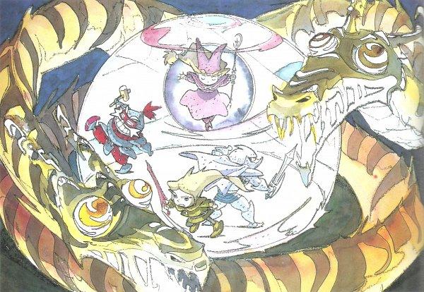 Tags: Anime, Popolocrois, Atsuko Fukushima, Scan, Official Art