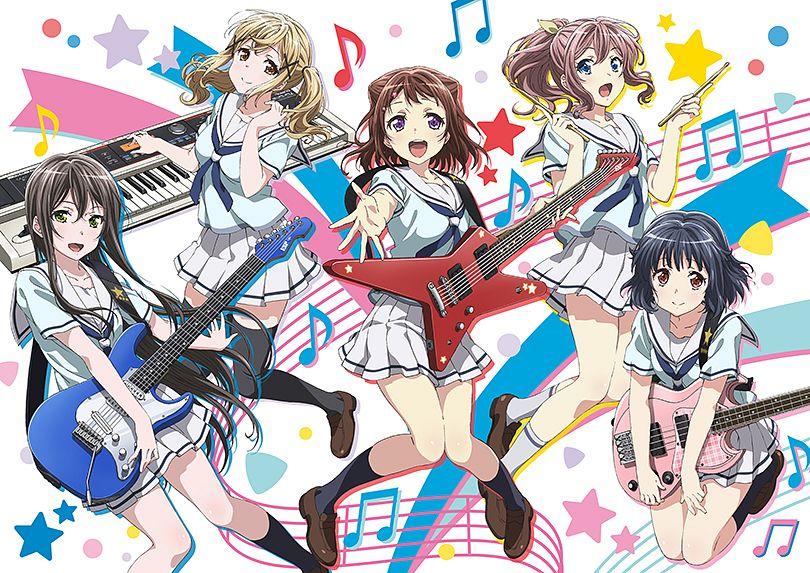 Tags: Anime, Nitta Matsuko, Xebec, ISSEN, BanG Dream!, Yamabuki Saaya (BanG Dream!), Ushigome Rimi, Hanazono Tae, Toyama Kasumi, Ichigaya Arisa, Cover Image, Official Art, Poppin'Party