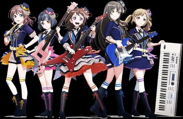 Tags: Anime, SANZIGEN, BanG Dream! Dai 2-ki, BanG Dream!, Yamabuki Saaya (BanG Dream!), Ushigome Rimi, Hanazono Tae, Toyama Kasumi, Ichigaya Arisa, Official Art, Key Visual, Poppin'Party