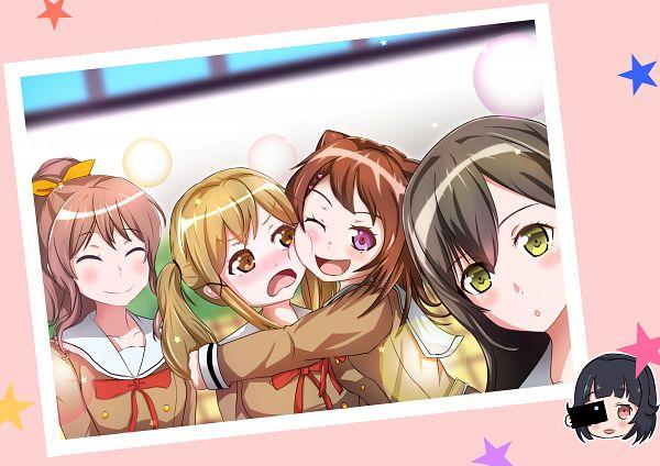 Tags: Anime, Pixiv Id 4450115, BanG Dream! Girls Band Party!, BanG Dream!, Yamabuki Saaya (BanG Dream!), Ushigome Rimi, Hanazono Tae, Toyama Kasumi, Ichigaya Arisa, Poppin'Party