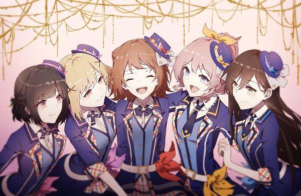 Tags: Anime, Pixiv Id 2758623, BanG Dream! Girls Band Party!, BanG Dream!, Toyama Kasumi, Ichigaya Arisa, Yamabuki Saaya (BanG Dream!), Ushigome Rimi, Hanazono Tae, Poppin'Party