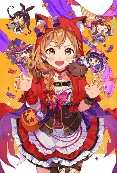 Tags: Anime, Pixiv Id 40958756, BanG Dream! Girls Band Party!, BanG Dream!, Yamabuki Saaya (BanG Dream!), Ushigome Rimi, Hanazono Tae, Toyama Kasumi, Ichigaya Arisa, Poppin'Party