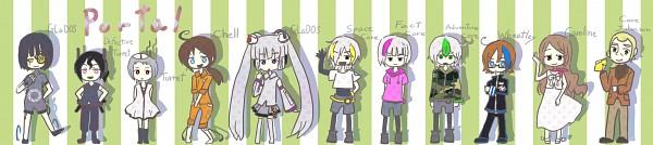 Tags: Anime, Portal (Game), Space Core, Chell, Fact Core, Wheatley, Cave Johnson, GLaDOS, Caroline (Portal 2), Adventure Core, Turret, Lemon, Hatsune Miku (Cosplay)