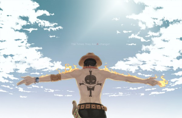 Tags: Anime, Kyuugou, ONE PIECE, Portgas D. Ace, Fanart, One Piece: Two Years Later, Pixiv, Whitebeard Pirates