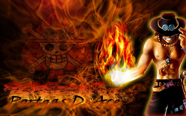 Tags: Anime, ONE PIECE, Portgas D. Ace, Wallpaper, Fanmade Wallpaper, Edited