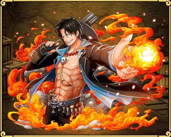 Tags: Anime, ONE PIECE, ONE PIECE: Treasure Cruise, Portgas D. Ace, Official Art, Wallpaper