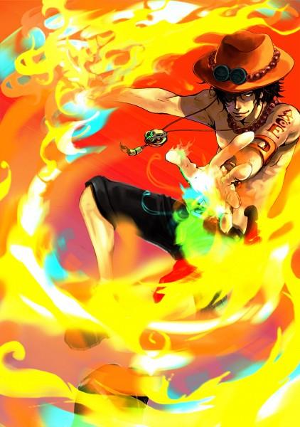 Tags: Anime, Pixiv Id 705649, ONE PIECE, Portgas D. Ace, Pixiv, Whitebeard Pirates