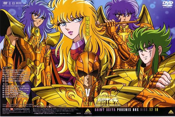 Tags: Anime, Toei Animation, Saint Seiya, Kraken Isaac, Julian Solo, Mermaid Thetis, Poseidon (Saint Seiya), Siren Sorrento, Gemini Kanon, Marinas, Scale, Official Art, Seven Generals