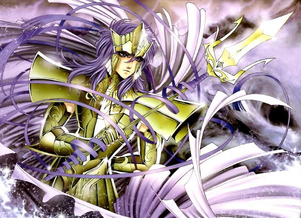 Tags: Anime, Saint Seiya, Sacred Saga, Julian Solo, Poseidon (Saint Seiya), Wallpaper, Poseidon's Mariners