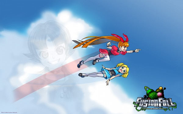 Tags: Anime, Power Puff Girls, Buttercup (PPG), Blossom (PPG), Bubbles (PPG), Wallpaper