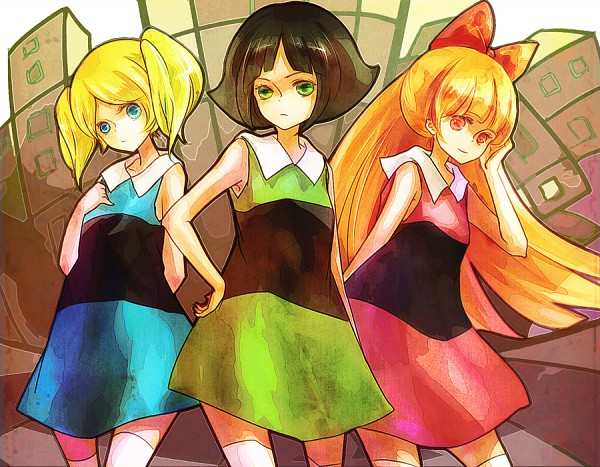 Tags: Anime, Power Puff Girls, Blossom (PPG), Bubbles (PPG), Buttercup (PPG)