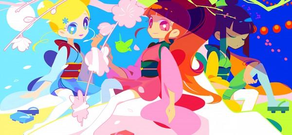 Tags: Anime, Mintchoco, Power Puff Girls, Power Puff Girls Z, Bubbles (PPG), Buttercup (PPG), Blossom (PPG), Fanart, Facebook Cover, Fanart From DeviantART, deviantART