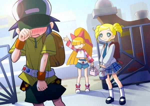 Tags: Anime, Power Puff Girls Z, Akatsutsumi Momoko, Matsubara Kaoru, Goutokuji Miyako, Artist Request