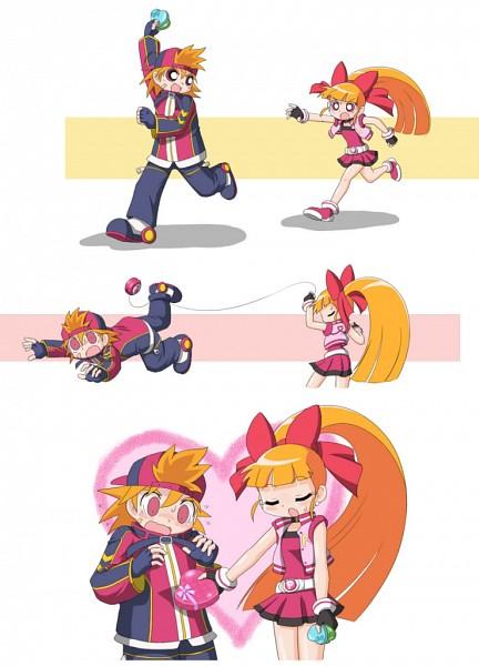 Tags: Anime, cckk, Power Puff Girls Z, Akatsutsumi Momoko, Hard Brick, Hyper Blossom, Yo-yo, Mobile Wallpaper, Rowdy Ruff Boys Z