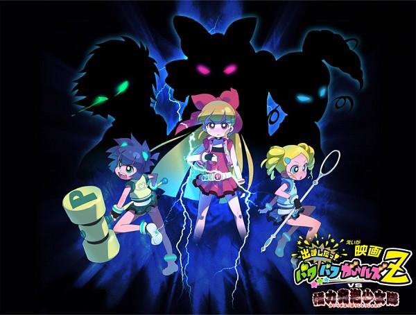 Tags: Anime, Minawa, Power Puff Girls Z, Hyper Blossom, Matsubara Kaoru, Akatsutsumi Momoko, Goutokuji Miyako, Powered Buttercup, Rolling Bubbles, Fanart