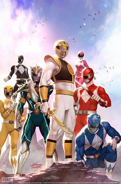Tags: Anime, Inhyuk Lee, Power Rangers, Gosei Sentai Dairanger, Blue Ranger, Yellow Ranger, Pink Ranger, Black Ranger (Power Rangers), Red Ranger, Character Request