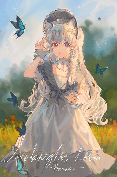 Tags: Anime, Ciloranko, Arknights, Pramanix, Hyoumimi, Fanart