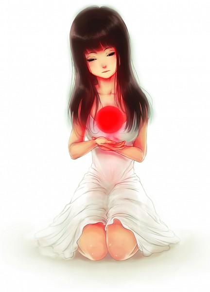 Tags: Anime, Mezamero, Red Sun Motif, Original, Mobile Wallpaper, Pray For Japan