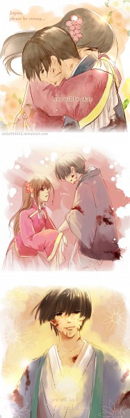 Tags: Anime, Zelda C. Wang, Axis Powers: Hetalia, Japan, Taiwan, Comic, Pray For Japan, Axis Power Countries, Asian Countries