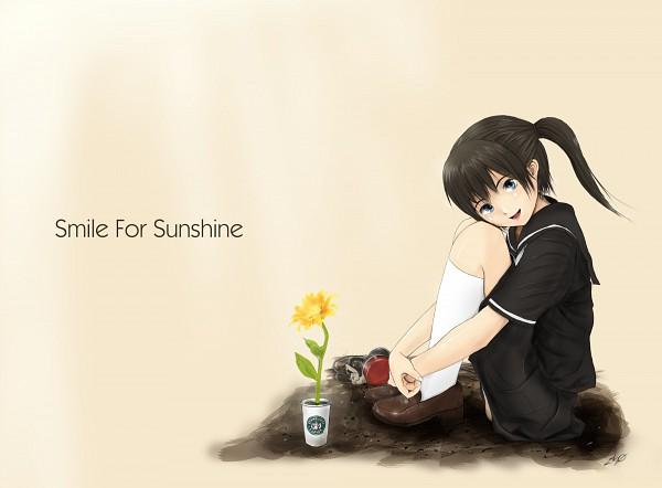 Tags: Anime, Vase, Pixiv, Pray For Japan