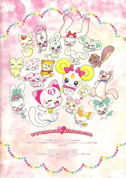 Tags: Anime, Futari wa Precure, Futari wa Precure Splash Star, Smile Precure!, Yes! Precure 5, Heartcatch Precure!, Suite Precure♪, Fresh Precure!, Precure All Stars, Syrup (Pretty Cure), Porun, Foop, Candy (Smile Precure)