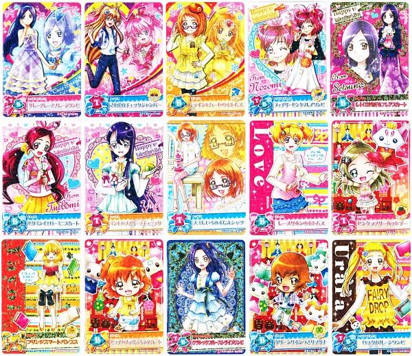 Tags: Anime, Suite Precure♪, Heartcatch Precure!, Smile Precure!, Fresh Precure!, Yes! Precure 5, Precure All Stars, Data Cardass Precure All Stars, Myoudouin Itsuki, Shirabe Ako, Aono Miki, Yumehara Nozomi, Kurokawa Eren