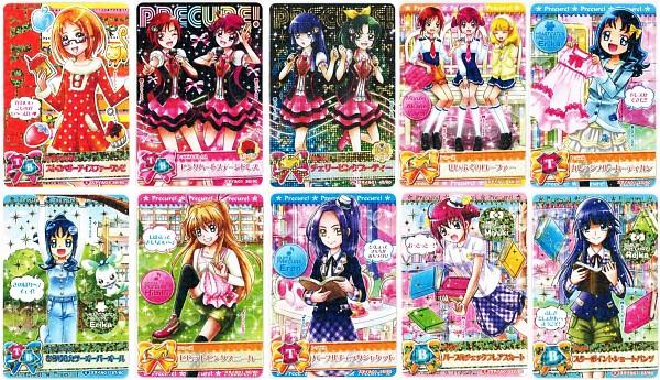 Tags: Anime, Heartcatch Precure!, Smile Precure!, Suite Precure♪, Hino Akane, Seiren (Suite Precure), Coffret, Hoshizora Miyuki, Hojo Hibiki, Kise Yayoi, Kurumi Erika, Aoki Reika, Shirabe Ako