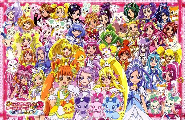 Tags: Anime, Suite Precure♪, Futari wa Precure, Futari wa Precure Splash Star, Yes! Precure 5, Heartcatch Precure!, Dokidoki! Precure, Fresh Precure!, Smile Precure!, Precure All Stars, Kujo Hikari, Mepple, Cure Peace