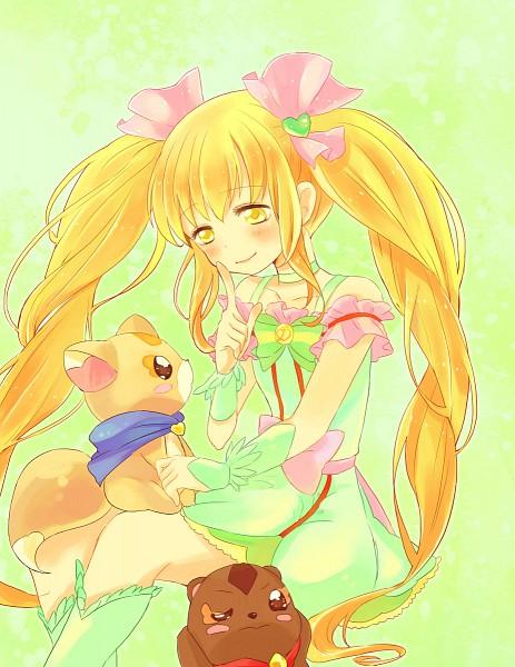 Tags: Anime, Sakura Makoto, Precure All Stars, Gureru, Enen, Sakagami Ayumi, Cure Echo, Fanart From Pixiv, Pixiv, Fanart