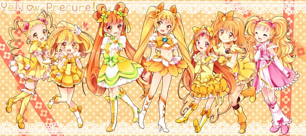 Tags: Anime, Uduki Shi, Suite Precure♪, Fresh Precure!, Dokidoki! Precure, Futari wa Precure, Heartcatch Precure!, Smile Precure!, Yes! Precure 5, Precure All Stars, Kasugano Urara, Cure Lemonade, Yotsuba Alice