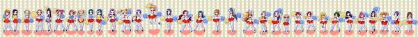 Tags: Anime, Pixiv Id 62125, Smile Precure!, Dokidoki! Precure, Futari wa Precure Splash Star, Yes! Precure 5, Heartcatch Precure!, Fresh Precure!, Suite Precure♪, Futari wa Precure, Precure All Stars, Yamabuki Inori, Tsukikage Yuri, Pretty Cure All Stars New Stage: Friends Of The Future