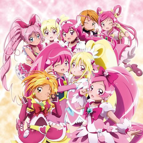 Tags: Anime, Kiyu, Dokidoki! Precure, Futari wa Precure Splash Star, HappinessCharge Precure!, Heartcatch Precure!, Yes! Precure 5, Fresh Precure!, Futari wa Precure, Smile Precure!, Suite Precure♪, Precure All Stars, Hyuuga Saki