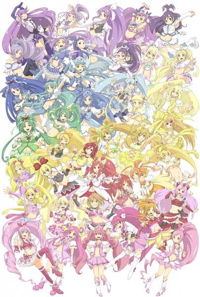 Tags: Anime, Pixiv Id 26493, Heartcatch Precure!, Dokidoki! Precure, Fresh Precure!, Suite Precure♪, Futari wa Precure, Futari wa Precure Splash Star, Yes! Precure 5, Smile Precure!, HappinessCharge Precure!, Precure All Stars, Cure Beat