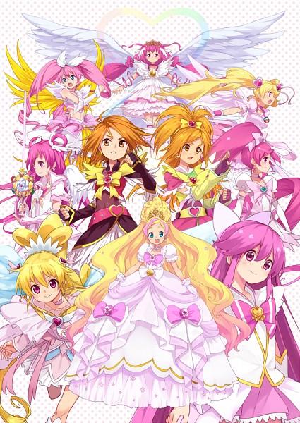 Tags: Anime, Pixiv Id 2418619, Dokidoki! Precure, Smile Precure!, Fresh Precure!, Heartcatch Precure!, HappinessCharge Precure!, Futari wa Precure, Futari wa Precure Splash Star, Suite Precure♪, Yes! Precure 5, Go! Princess Precure, Precure All Stars