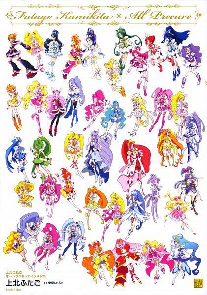 Tags: Anime, Kamikita Futago, Toei Animation, HappinessCharge Precure!, Yes! Precure 5, Smile Precure!, Fresh Precure!, Futari wa Precure, Suite Precure♪, Futari wa Precure Splash Star, Heartcatch Precure!, Go! Princess Precure, Mahou Tsukai Precure!