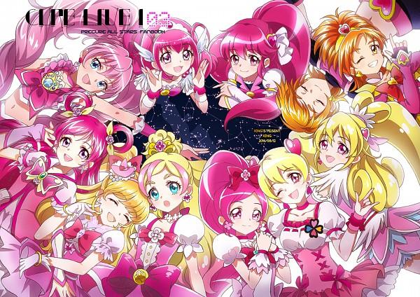 Tags: Anime, Xing, Futari wa Precure, Go! Princess Precure, Futari wa Precure Splash Star, Smile Precure!, Suite Precure♪, Dokidoki! Precure, Yes! Precure 5, Mahou Tsukai Precure!, HappinessCharge Precure!, Heartcatch Precure!, Fresh Precure!