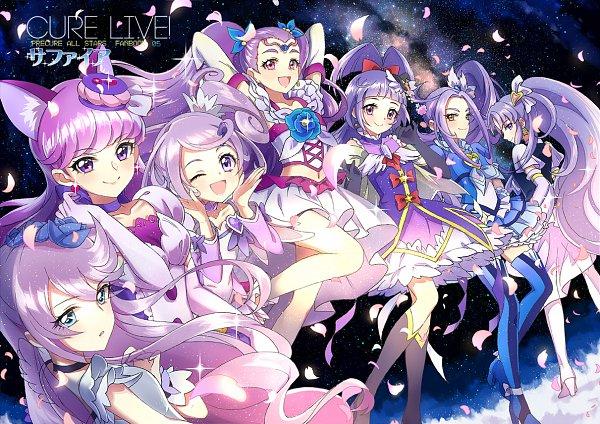Tags: Anime, Xing, Heartcatch Precure!, Dokidoki! Precure, Kirakira☆Precure a la Mode, Yes! Precure 5, HappinessCharge Precure!, Suite Precure♪, Mahou Tsukai Precure!, Precure All Stars, Tsukikage Yuri, Cure Sword, Cure Macaron